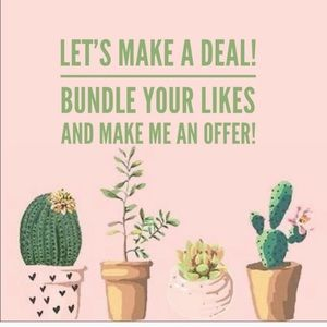 Other - Bundle Your Likes and Make an offer!